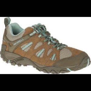 Merrell Otter Blue Surf Hiking Shoes Sneakers 8.5